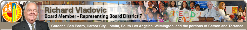 Office of LAUSD Board Member Dr. Richard Vladovic  Logo